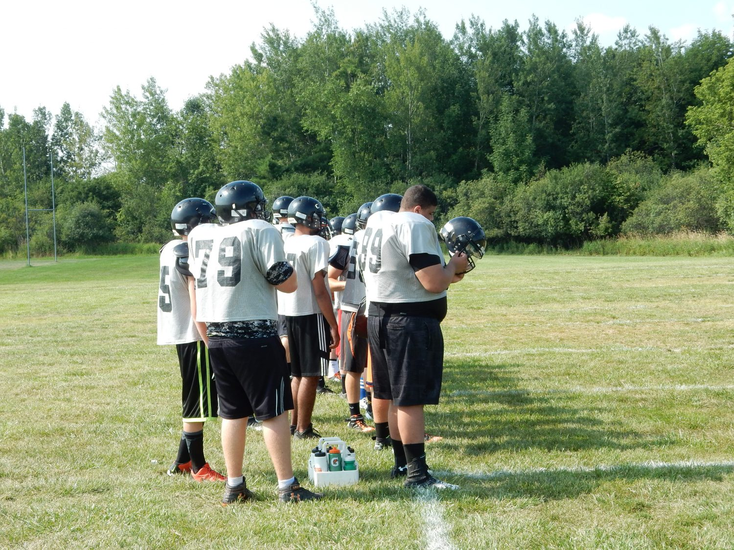 Marshfield Tigers' Varsity Football Practice (Hub City Times Photo/ Adam Hocking).