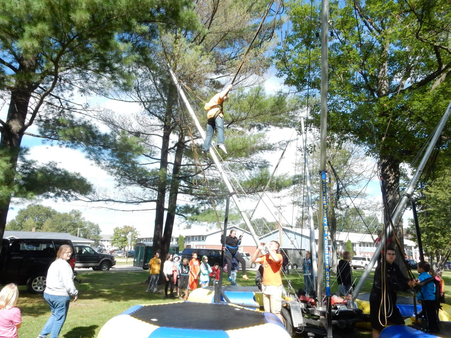 Games, entertainment, food, and crafts all on display at Maple Fall Fest.