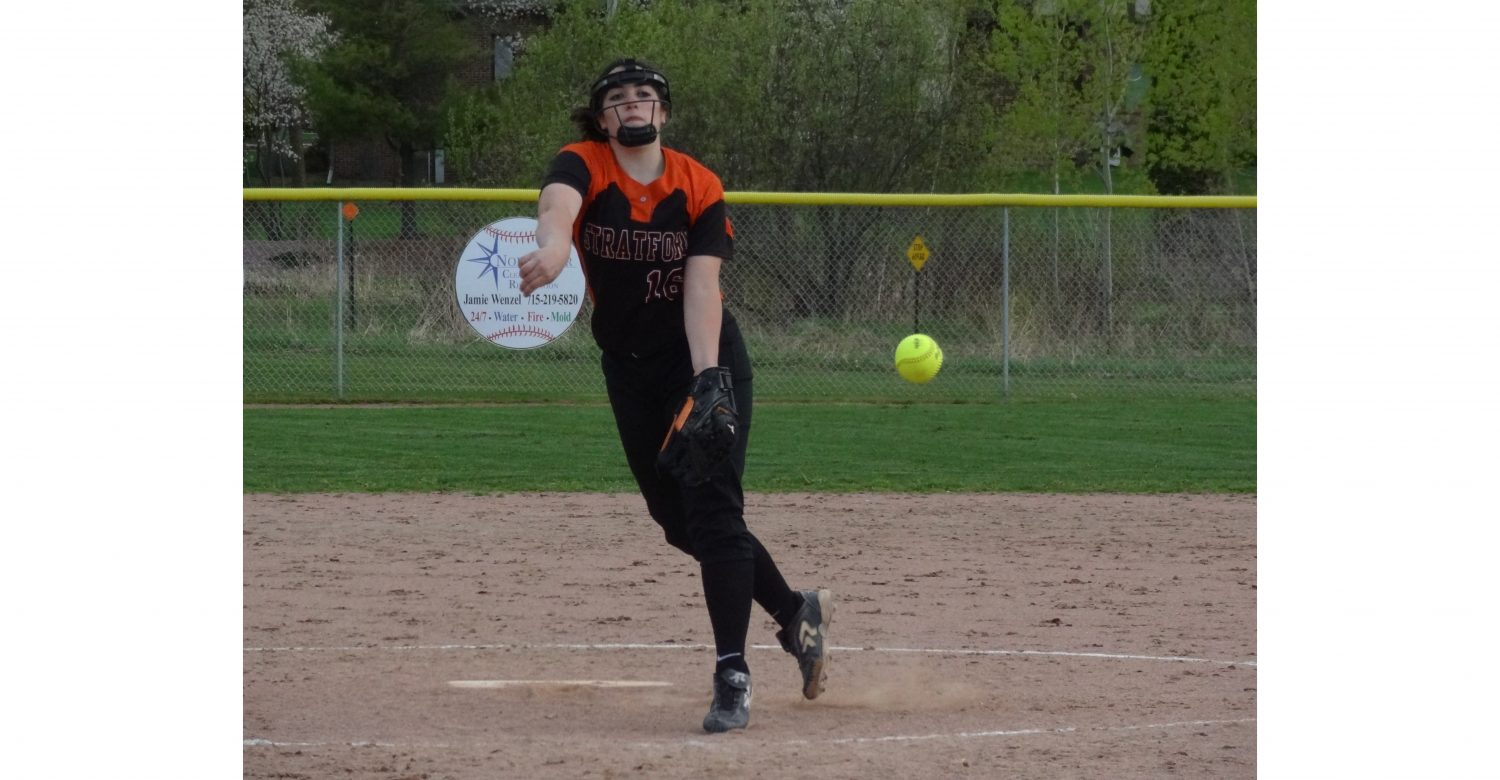 lorrie luepke softball stratford tigers marawood conference all south division first second third team honorable mention