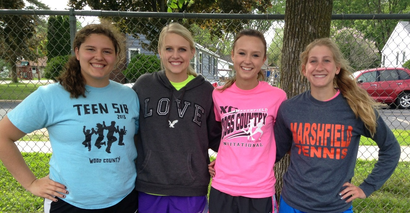 2015 WIAA State Track Field Championships meet la crosse marshfield tigers girls martha kupfer ashley holubets amy martorano stephanie rhodes