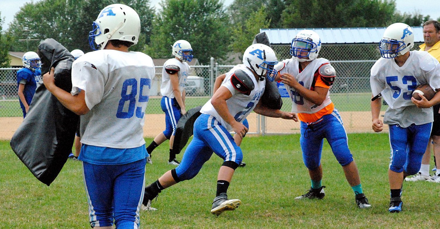 auburndale apaches marawood conference football preview practice