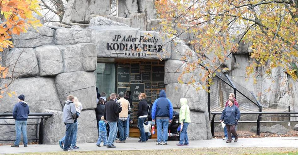wildwood park zoo adler family kodiak bear exhibit extended hours