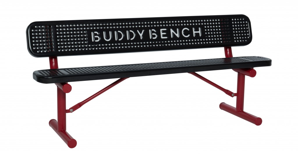 A Leadership Marshfield group is raising money to install Buddy Benches at all of Marshfield's public elementary schools. The benches are intended to be a safe place for children to go if they are being bullied.