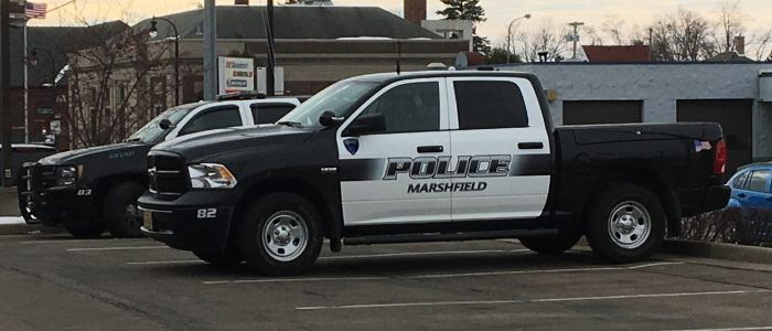 The Marshfield Police Department recently purchased a 2017 Ram pickup.