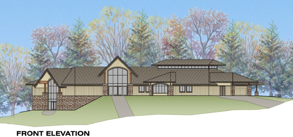 The new multiuse shelter building will be the main improvement at Powers Bluff Park.