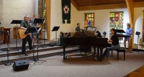 Faith Fire rehearses for its Sept. 29 concert benefiting Damascus Road.